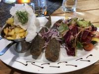 2020 07 16 Waren Abendessen mit Bratheringe für Jutta