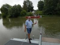 2020 07 17 Freyburg Wasserentnahme Fluss Unstrut