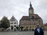 2020 07 17 Naumburg Stadtplatz mit Stadtkirche St Wenzel