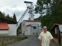 2020 07 18 Jachymov Tschechien Unesco Montanregion Erzgebirge Stollen Nr 1 Aufzug