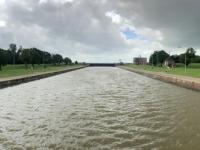 2020 07 05 Emden Seeschleuse Emse in die Nordsee