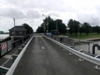 2020 07 05 Emden Seeschleuse des Fluss Emse
