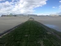 2020 07 05 Norderney auf der Buhne zurück zum Ort