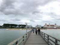 2020 07 12 Binz Seebrücke Blick auf Binz