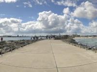 2020 07 12 Warnemünde von der Pier zur Stadt