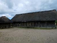 Deutschland Archäologischer Grenzkomplex Haithabu und Danewerk Wikingerdorf Kopfbild