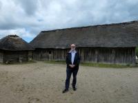 Deutschland Archäologischer Grenzkomplex Haithabu und Danewerk Wikingerdorf