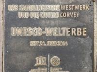 Deutschland Karolingisches Westwerk und Civitas Corvey Tafel 1