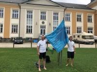 ÖTB OÖ Jahnwanderfahne erstmals in Ried