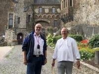 2020 08 22 Cochem Reichsburg Burgführer Roland aus Niederlande