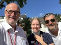 2020 08 22 Cochem mit KF Dir Stv Arno und Kollegin Isabella