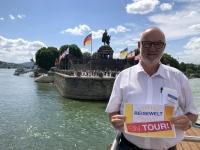 2020 08 22 Koblenz Deutsches Eck Reisewelt on Tour