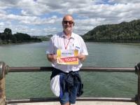 2020 08 22 Koblenz Deutsches Eck mit Zusammenfluss Reisewelt on Tour