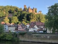 2020 08 23 Wertheim Vorbeifahrt an der Burg