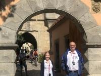 2020 08 24 Rothenburg ob der Tauber Eingang zum Burggarten