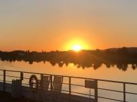 2020 08 27 Sonnenaufgang vor Regensburg