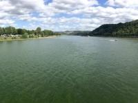 2020 08 22 Koblenz Zusammenfluss von Rhein und Main