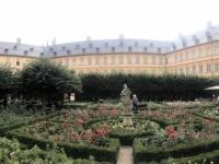 2020 08 25 Bamberg Neue Residenz Rosengarten