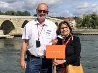 2020 08 27 Regensburg Steinerne Brücke RLin Catherine