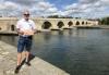 2020 08 27 Regensburg Steinerne Brücke Reisewelt on Tour