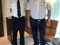 Hoteldirektor Andreas Schönbeck mit Coronamaske