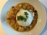 HS Vegetarisches rotes Thai Curry