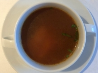 Suppe Tomatenessenz