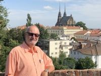 2020 08 30 Brünn Burg Spielberg Blick auf Kathedrale Peter und Paul