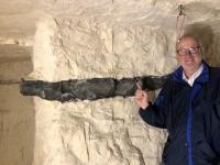 2020 09 01 Krzemionki Montanregion Feuersteinbergwerk Unesco so sieht der Feuerstein aus