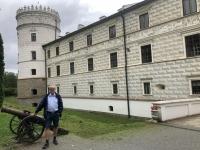 2020 09 02 Krasiczyn Schloss Eingangsseite