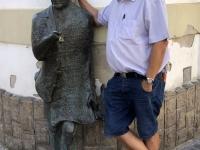 2020 09 03 Tarnow Bronzefigur