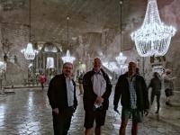 2020 09 03 Wieliczka Salzbergwerk riesige Kapelle in 135 Meter Tiefe