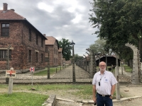 2020 09 04 Auschwitz doppelter Sperrzaun