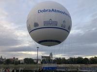 2020 09 04 Krakau Ballonfahrt beim Forum Przestrzenie
