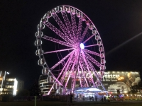 2020 09 04 Krakau Riesenrad beim Forum Przestrzenie