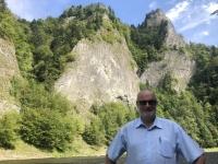 2020 09 05 Floßfahrt Dunajec Durchbruch durch steile Schluchten