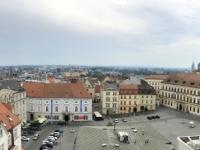 2020 08 30 Brünn Blick vom Turm im alten Rathaus auf Krautmarkt