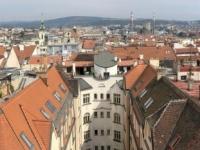 2020 08 30 Brünn Blick vom Turm im alten Rathaus