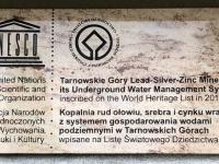 Polen Blei Silber Zink Mine Tarnowskie Gory Tafel 1