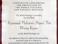 Polen Krzemionki Montanregion Tafel 1