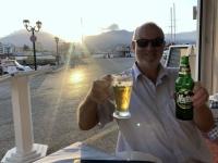 2020 09 08 Pigadia das erste Bier