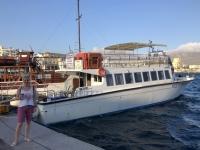 2020 09 09 Abfahrt zur Insel Saria mit der Karpeta Nikona