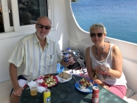2020 09 09 Bootsfahrt nach Saria Barbecue als Mittagessen