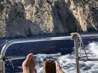2020 09 09 Bootsfahrt nach Saria mit herrlicher Küste