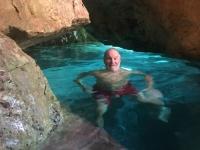 2020 09 09 Insel Saria Badebucht Palatia Höhlenschwimmen
