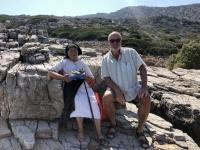 2020 09 09 Insel Saria Badebucht Palatia Oma und Mutter von Kapitän