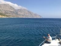 2020 09 09 windige Bootsfahrt nach Saria