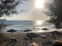2020 09 10 Arkasa Strand Agios Nikolaos später Nachmittag