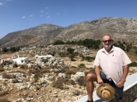 2020 09 10 Hochebene Lastos mit Blick auf die höchsten Berge von Karpathos
