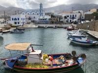 2020 09 12 Insel Kasos idyllischer alter Fischerhafen